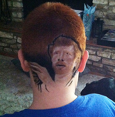 Matt Bonner was such an inspiration to one Texas middle-school student that he nearly took an In-School Suspension for supporting Bonner